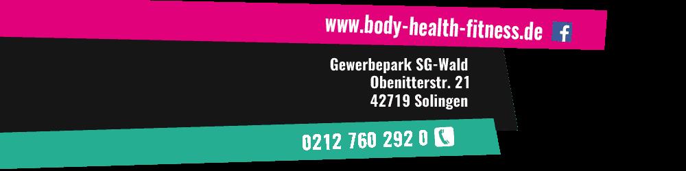 Kontakt Fitnessstudio Solingen